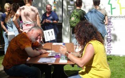 De Mensenbieb scoort hoog op bevrijdingsfestivals